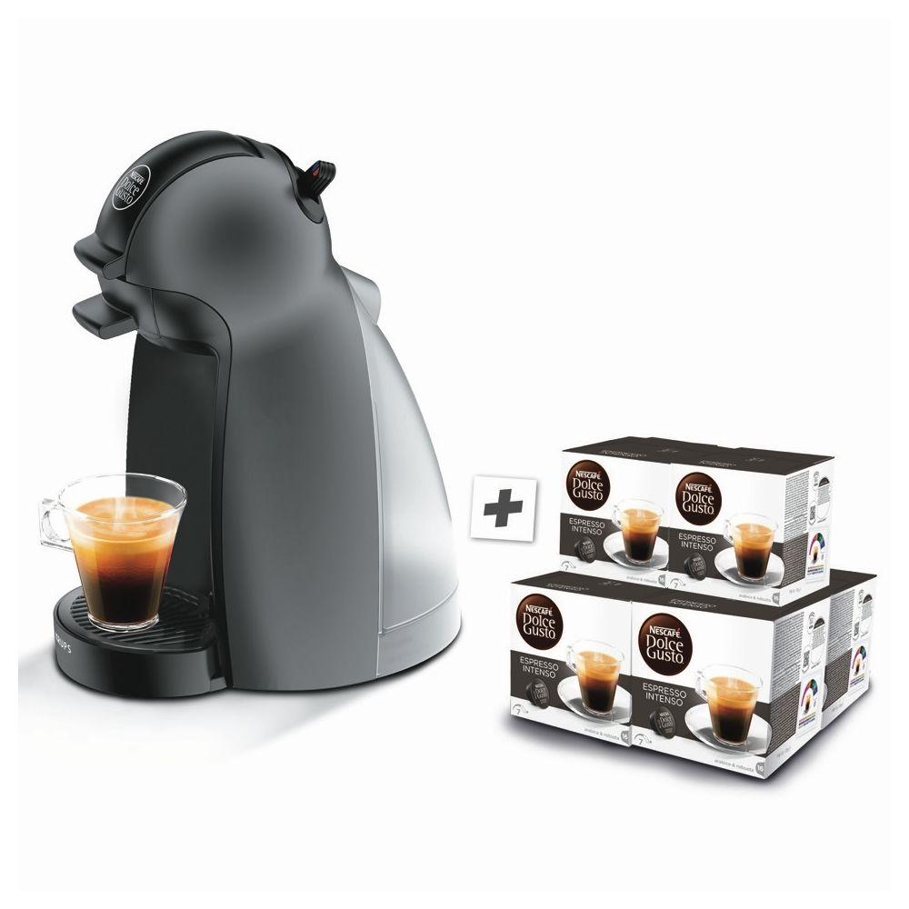 Machine à café expresso Dolce Gusto KRUPS 6 boites de capsules Nescafé Bio