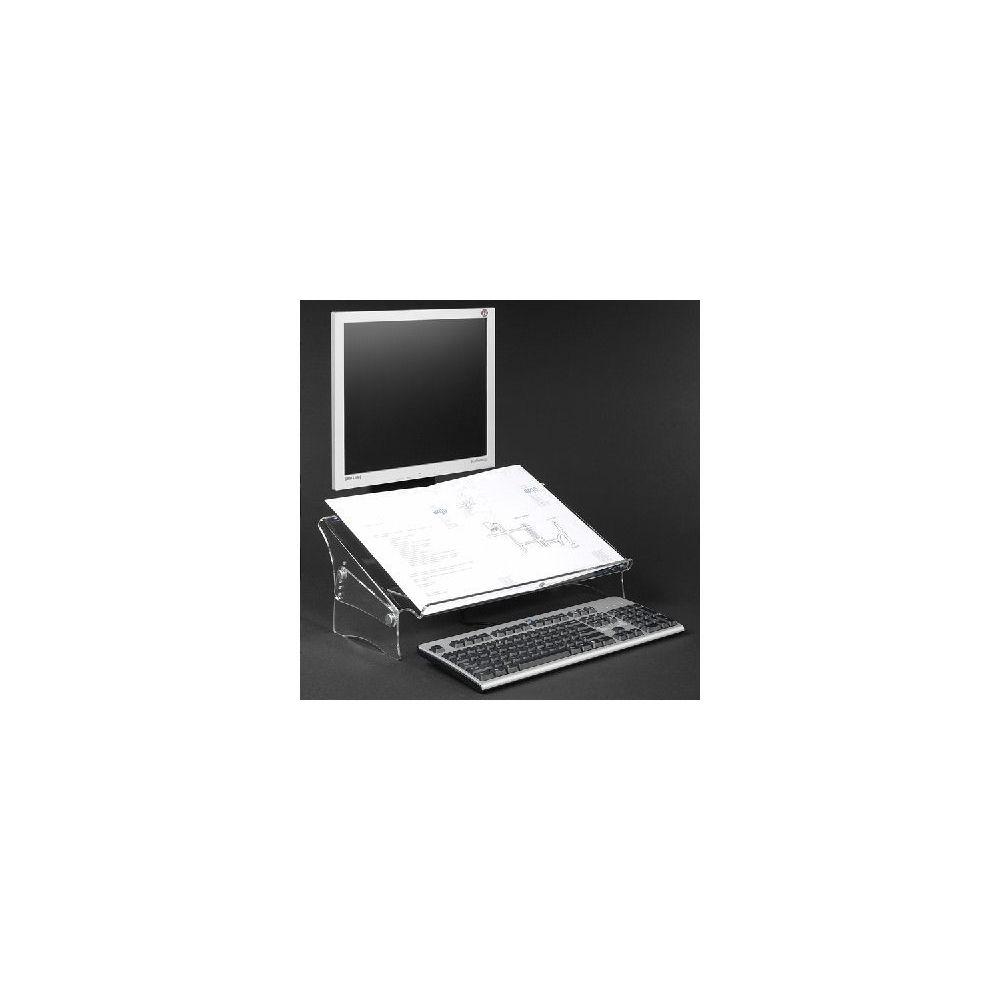 Dataflex ABI DIFFUSION DATAFLEX Porte copie/doc, Acrylique - Hauteur réglable 49410