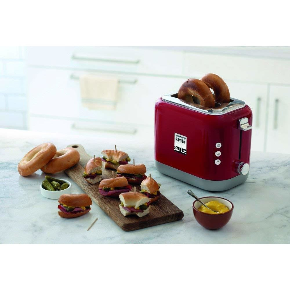 Kenwood grille pain avec 2 fentes 900W rouge