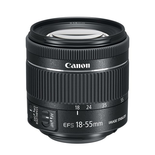 Canon - CANON OBJECTIF EF-S 18-55 IS STM f/4-5.6 - Objectifs