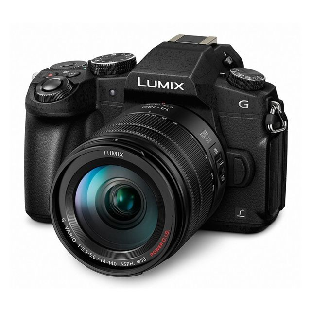 Panasonic - PACK PANASONIC LUMIX G80 Noir + 14-140/3.5-5.6 tropicalisé - Pack appareil photo