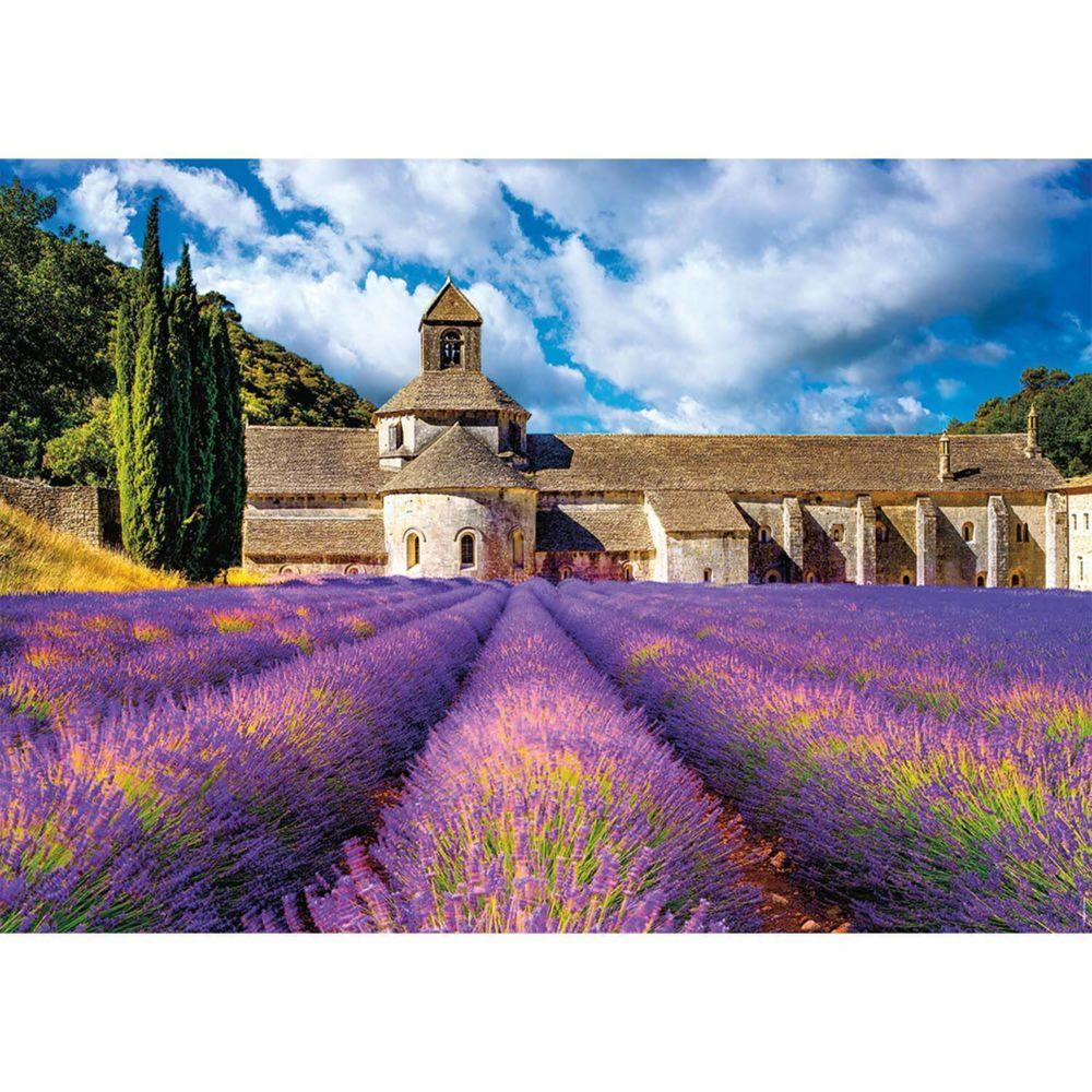 Nathan Puzzle 1500 pièces : L'Abbaye Notre-Dame de Sénanque