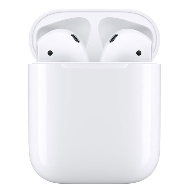 Apple - AirPods 2 - Boitier de charge filaire - MV7N2ZM/A Apple   - Casque audio
