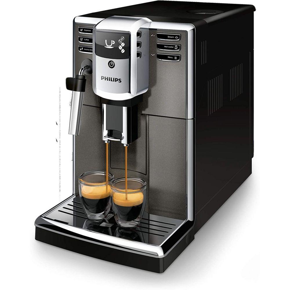 Philips Machine expresso à café grains de 1,8L avec broyeur gris noir