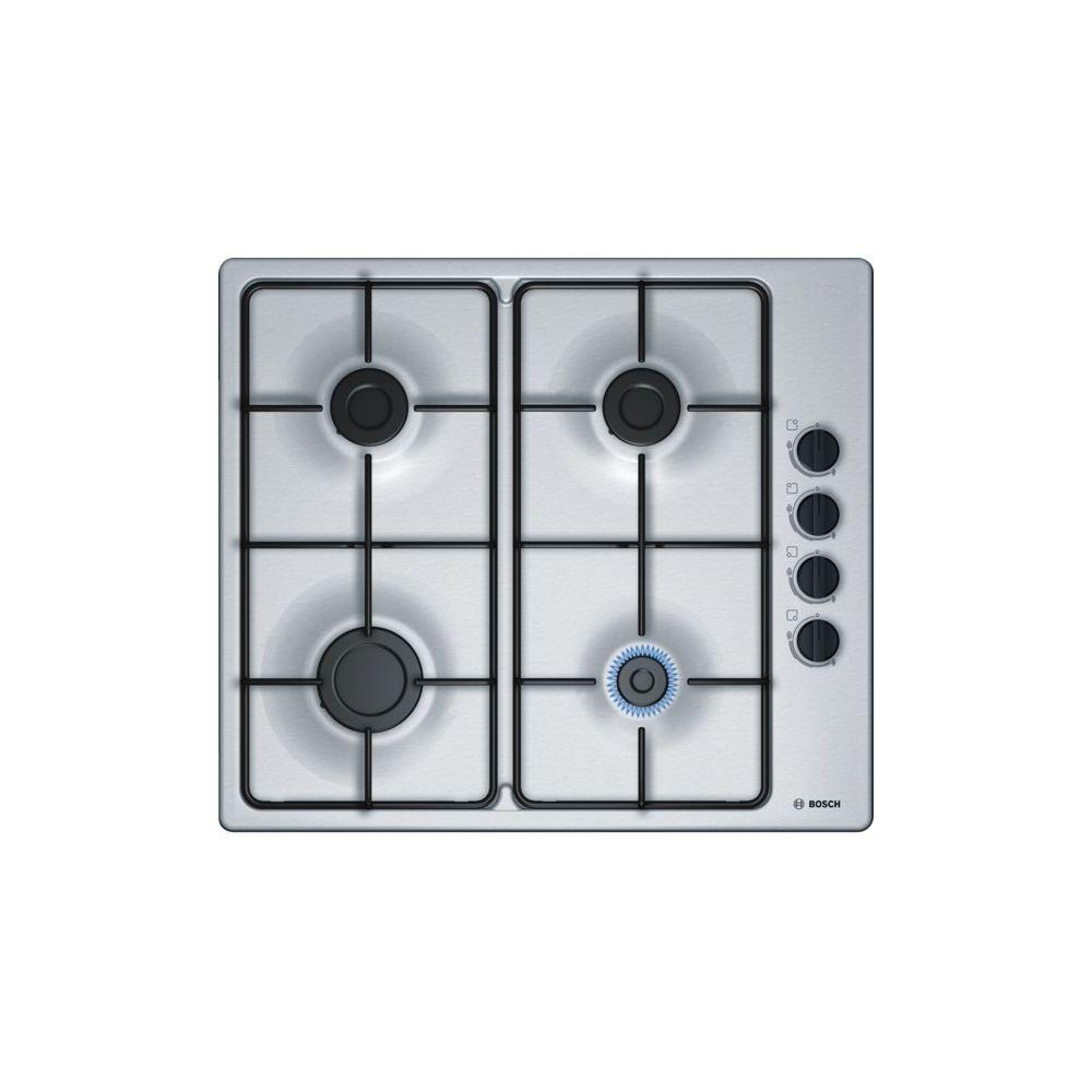 Bosch Table inox gaz 60cm - pbp6b5b80