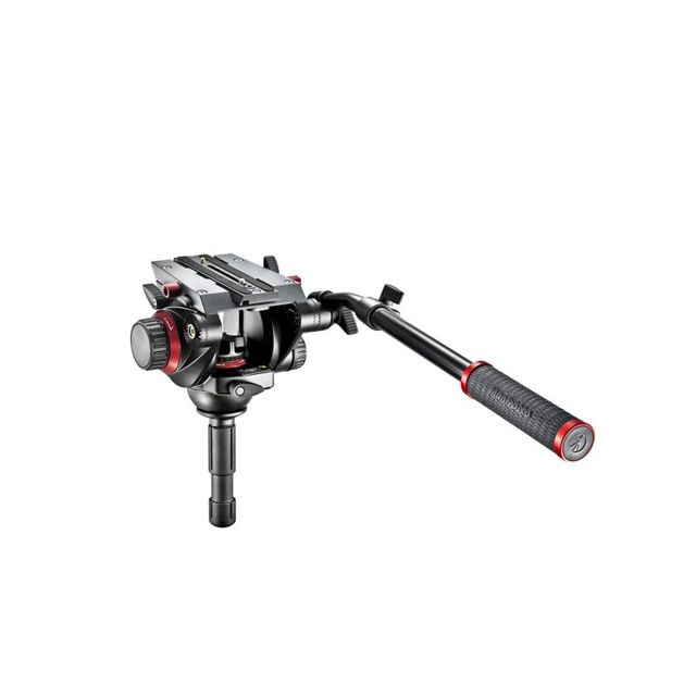Manfrotto - MANFROTTO 504HD Rotule Vidéo Pro BOL 75MM - Manfrotto