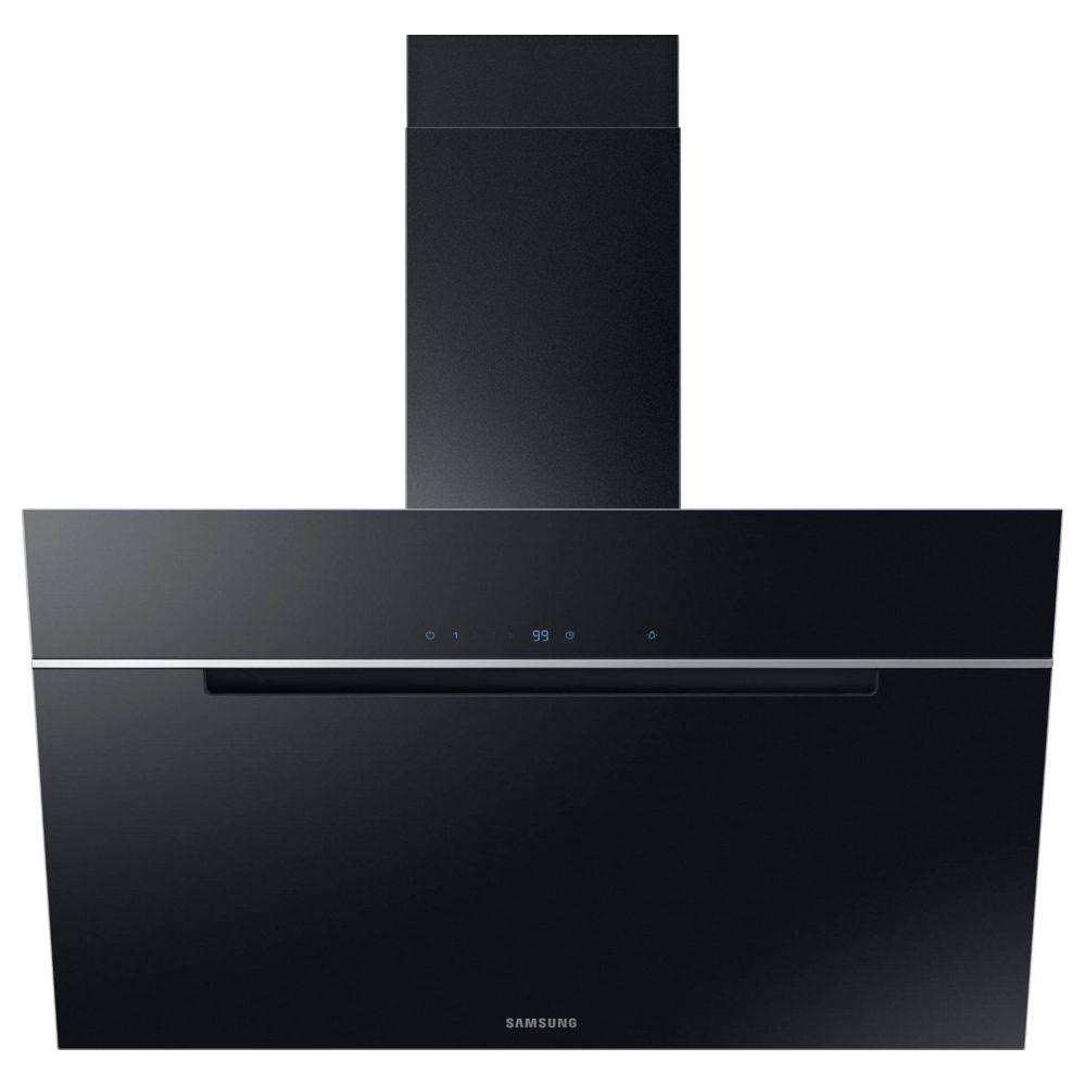 Samsung samsung - hotte décorative 90cm 585m3/h noir - nk36m7070vbur