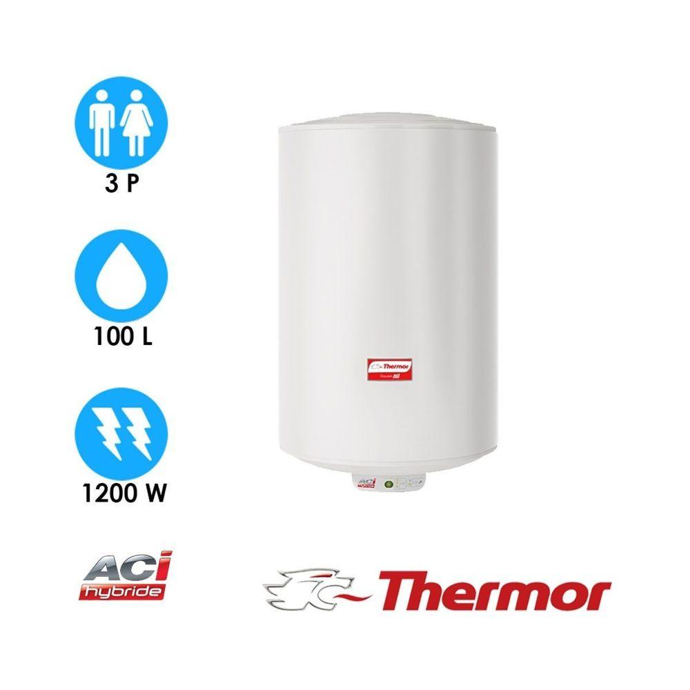 Thermor Chauffe-eau duralis - 100l - vertical mural compact - thermor