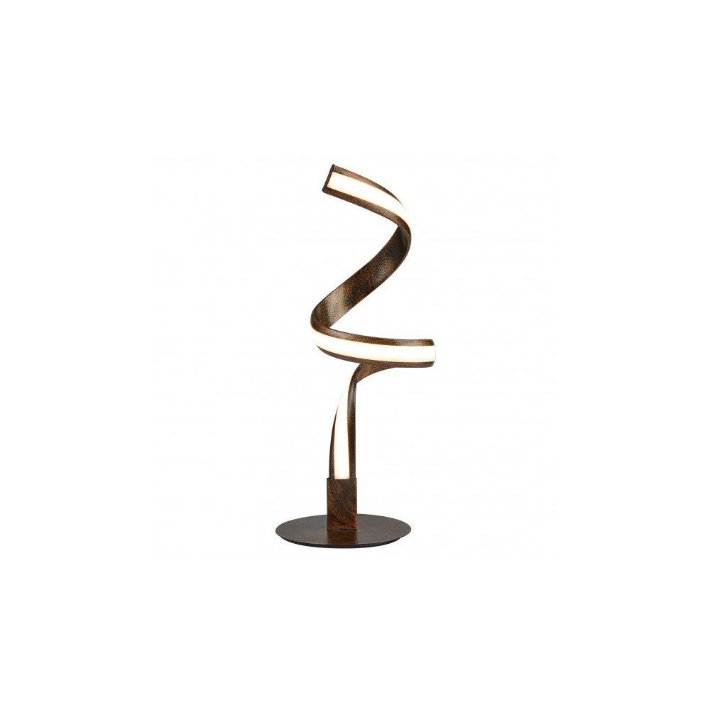 Searchlight Lampe Ribbon, marron et acrylique