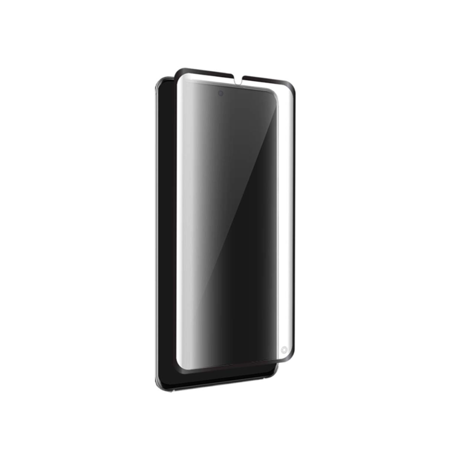 Force Glass - Force Glass - Protège-écran en verre organique Force Glass contour noir pour Samsung Galaxy S20 G980 avec kit de pose exclusif - Protection écran tablette