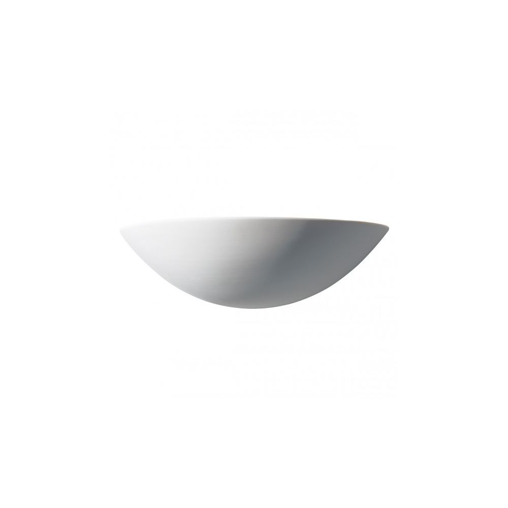 Luminaire Center Applique murale Radius blanc et céramique 1 ampoule