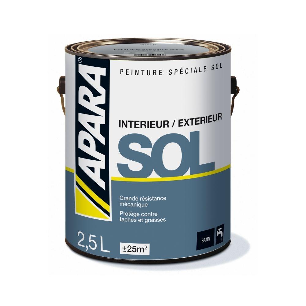 Apara Peinture SOL SATIN-2.5 litres-Blanc