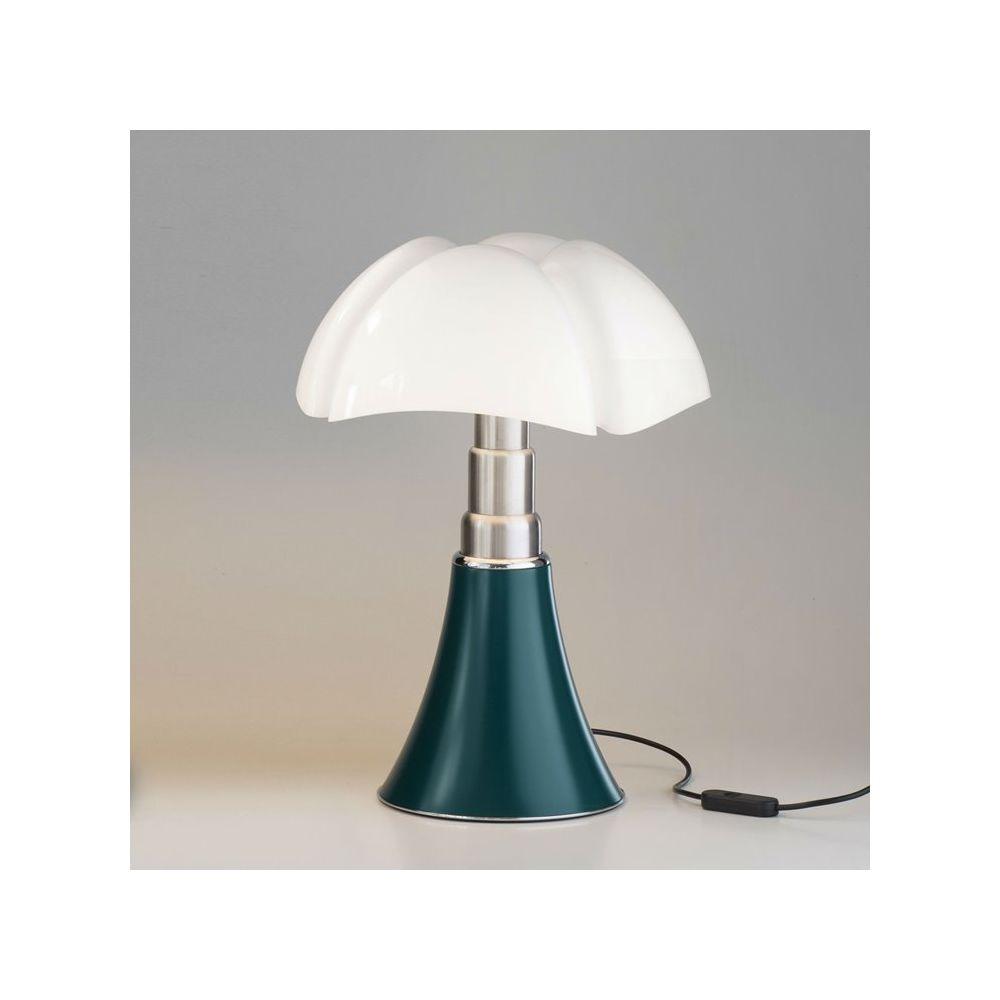 Martinelli Luce MINI PIPISTRELLO-Lampe LED H35cm Vert Agave Martinelli Luce - designé par Gae Aulenti
