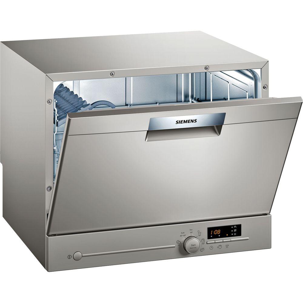 Siemens siemens - lave-vaisselle compact 6 couverts a+ pose-libre inox - sk26e822eu