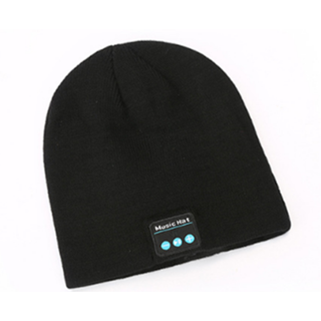 marque generique -YP Select Bluetooth Hat Bluetooth Beanie Hat with Bluetooth 5.0 Built-in Stereo Mic Fit for Outdoor Sports-Noir marque generique  - Ecouteurs intra-auriculaires