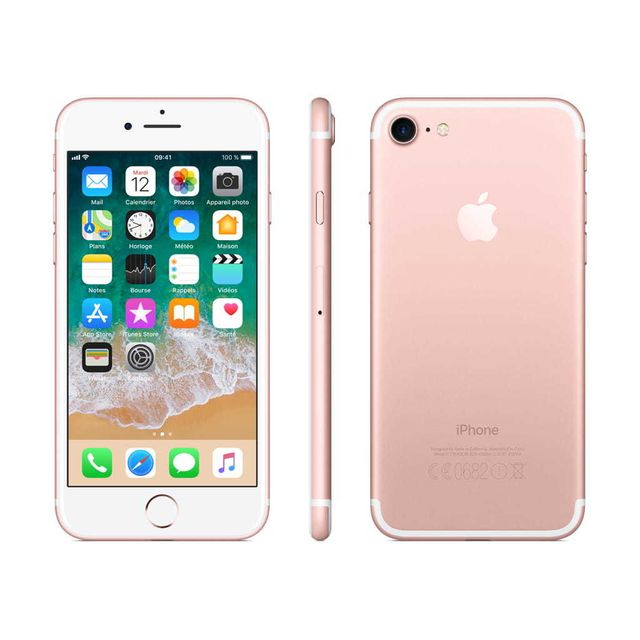 Apple - iPhone 7 - 256 Go - MN9A2ZD/A - Or Rose - iPhone 256 go