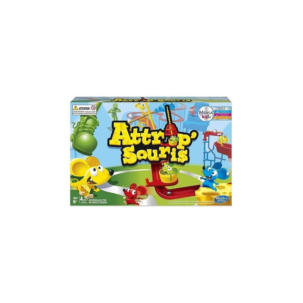 Hasbro Attrap souris Pieges et cascades de folie - Jeu de societe Action - Enfant 6 ans+