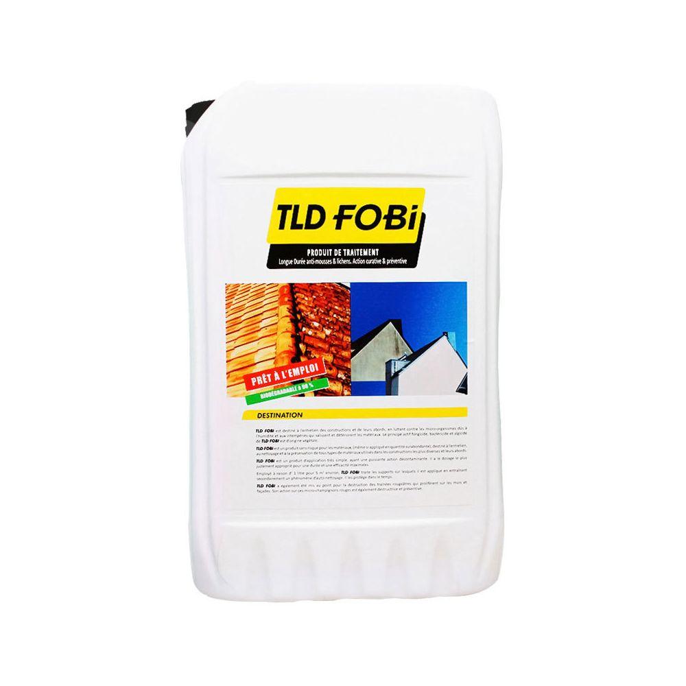 Fobi Bidon de produit de traitement longue durée anti-mousses et lichens / action curative et préventive - FOBI