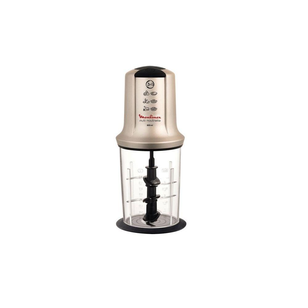Moulinex Mini-hachoir Multimoulinette XXL - AT718A10 - Noir/Silver
