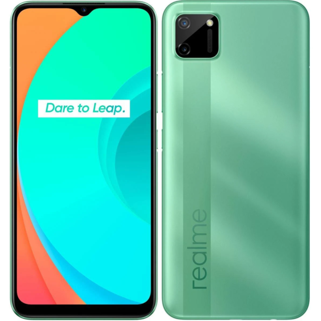 Smartphone Android Realme C11 - 2/32 Go - Vert