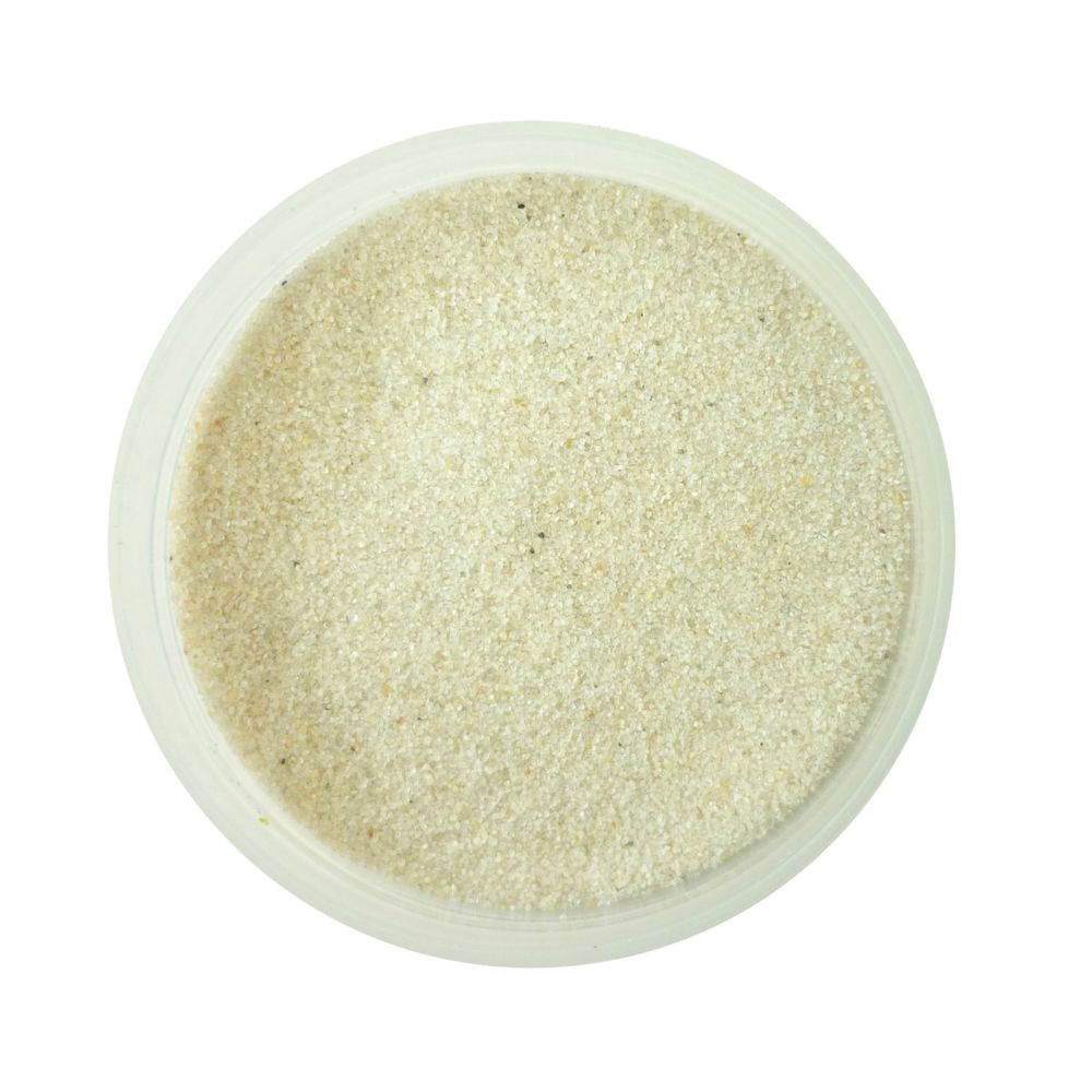 Dtm Loisirs Creatifs Pot de sable 45 g naturel n°0 - Graine créative