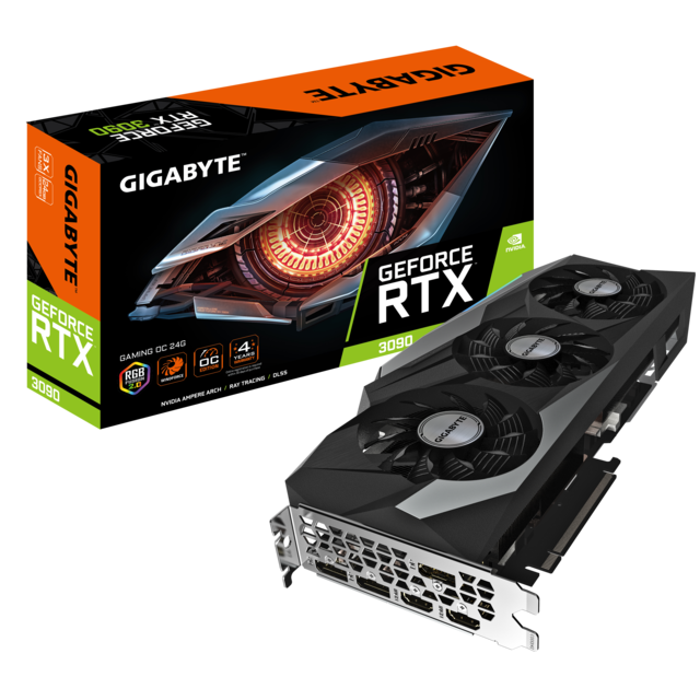 Gigabyte - GeForce RTX 3090 - GAMING OC Triple Fan - 24Go - Carte Graphique NVIDIA