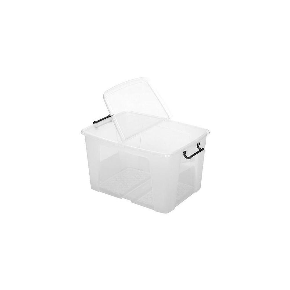 Cep Boîte de rangement en plastique Strata - 65 litres - Lot de 5