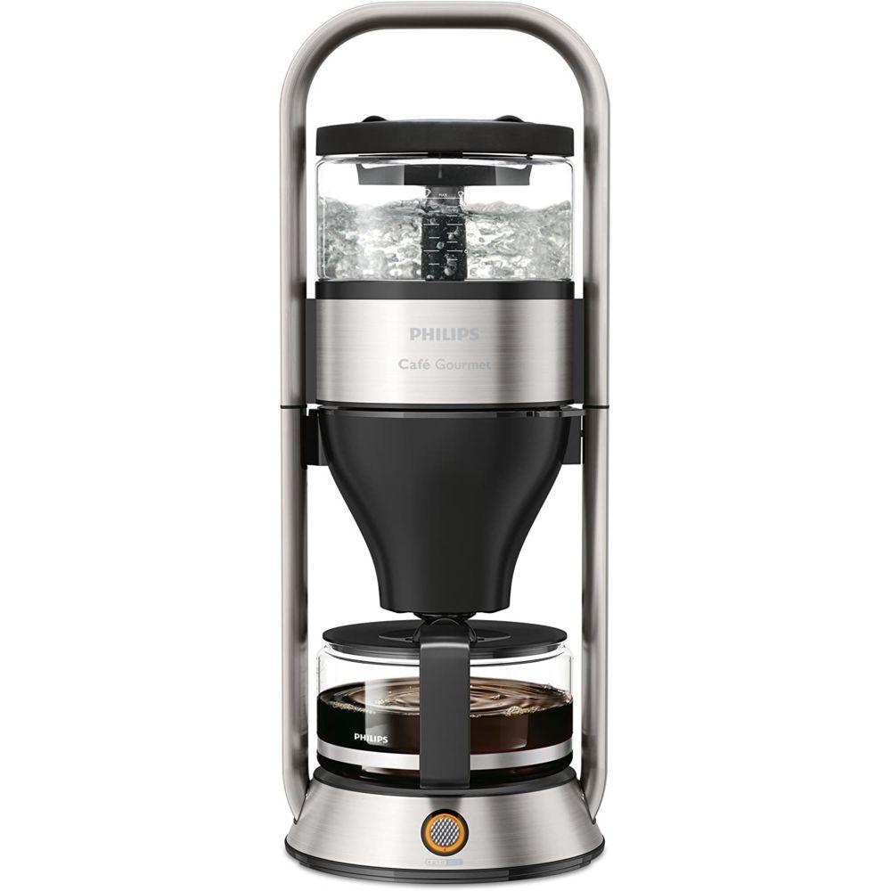 Philips Cafetière électrique de 1L 1300W inox noir