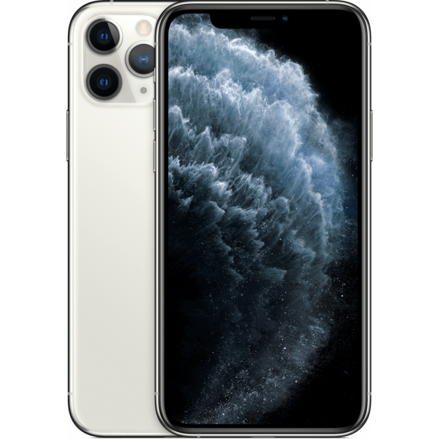Apple -iPhone 11 Pro - 256 Go - MWC82ZD/A - Argent Apple  - iPhone 256 go