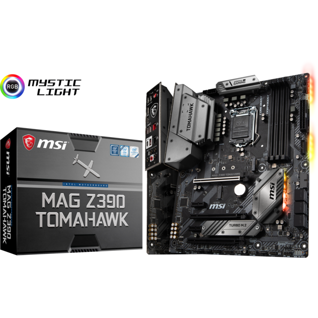 Msi - Intel Z390 TOMAHAWK - ATX - Carte mère Intel