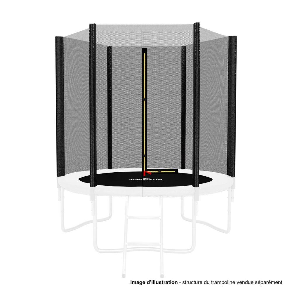 Kaia Sports Filet de sécurité extérieur Universel pour trampoline ø 6Ft, 6 Perches