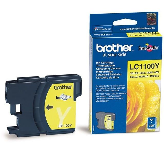 Brother -BROTHER - LC1100Y- Jaune Brother  - Brother
