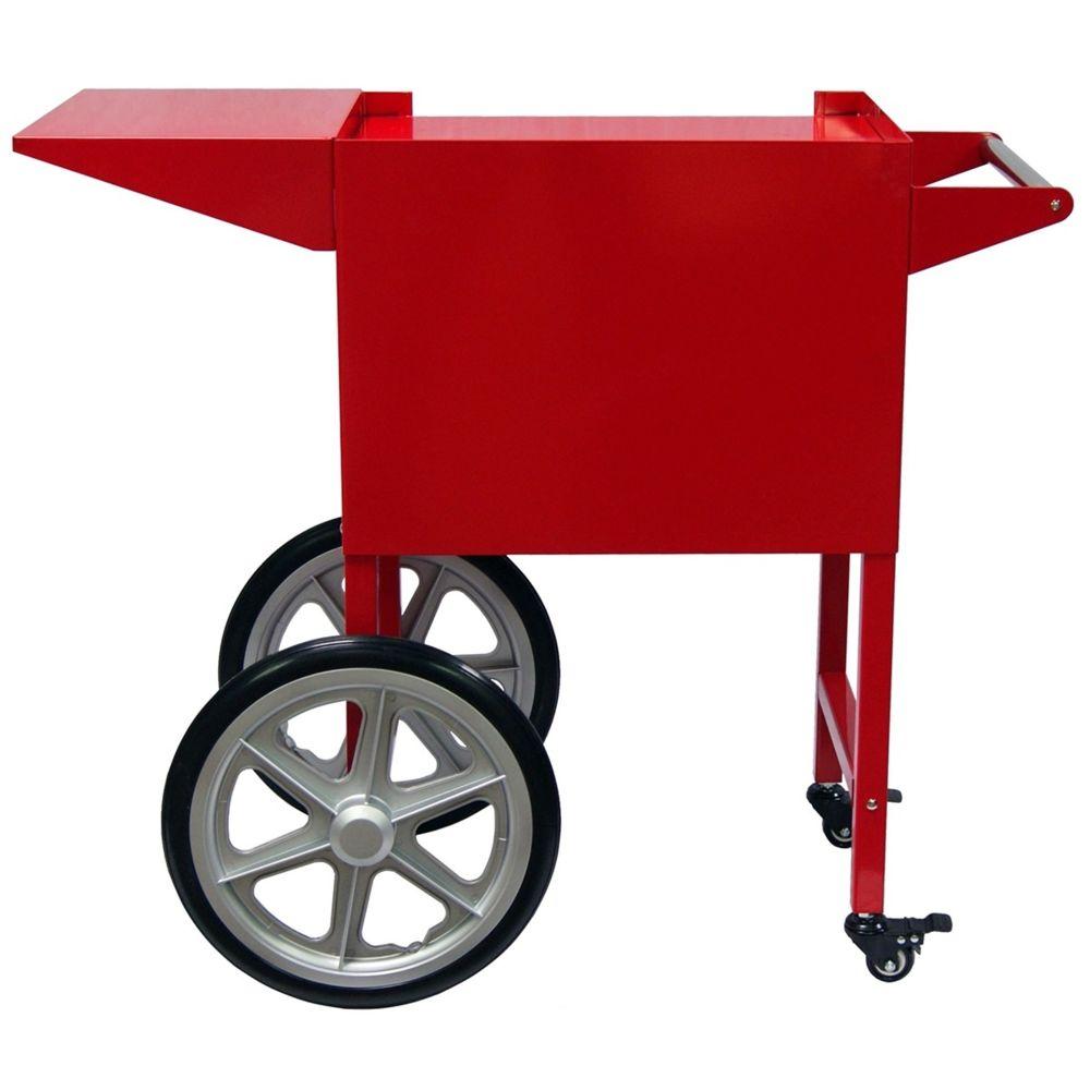 Gt Catering Chariot pour machine à pop corn professionnelle