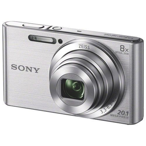 Sony - Appareil photo compact - Sony W830 Silver - Appareil compact