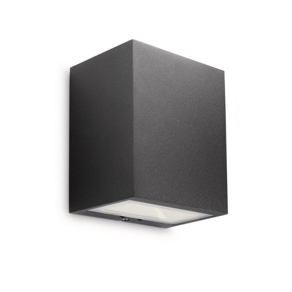Philips Eclairage extérieur rectangle Flagstone LED IP44 H12 cm - Anthracite