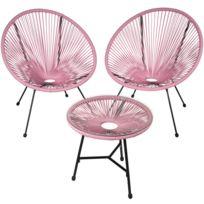 Table et Chaises de jardin plastique | Rue Du Commerce