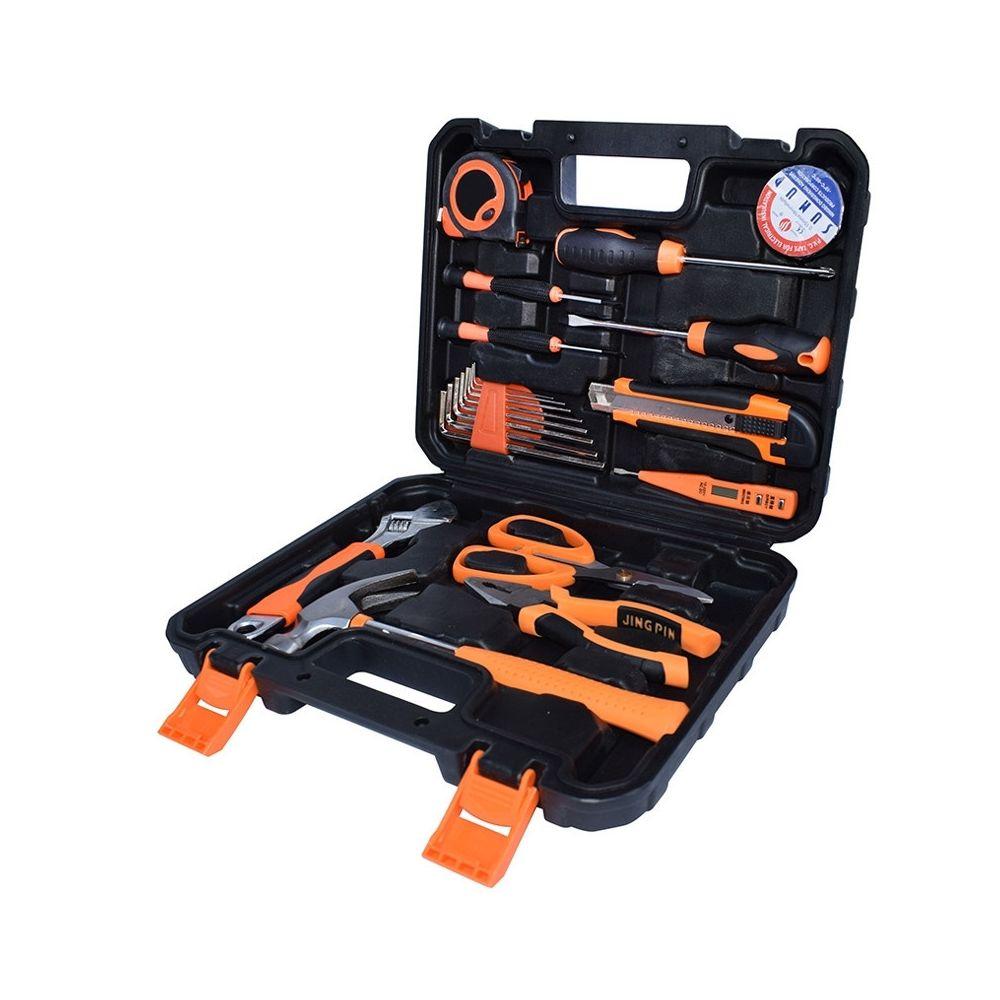 Wewoo STT-020J Combinaison de ciseaux pour électricien ménager multifonction de 20 pièces