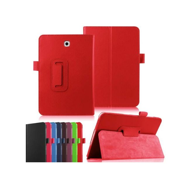 Xeptio - Etui Samsung Galaxy Tab S2 9,7 4G rouge - Housse coque de protection - Marchand Bestventes