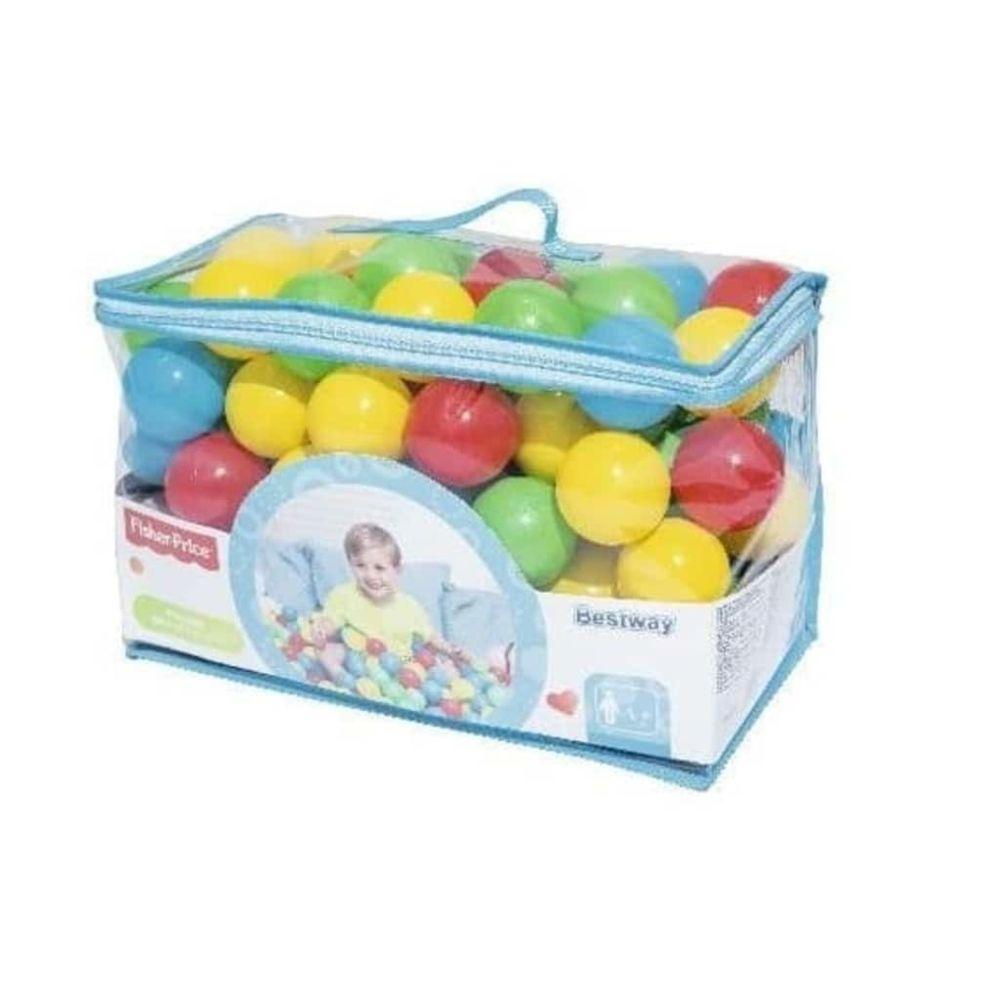 Bestway Bestway Boules pour piscine à boules Fisher Price 100 pcs 6,5 cm 93526