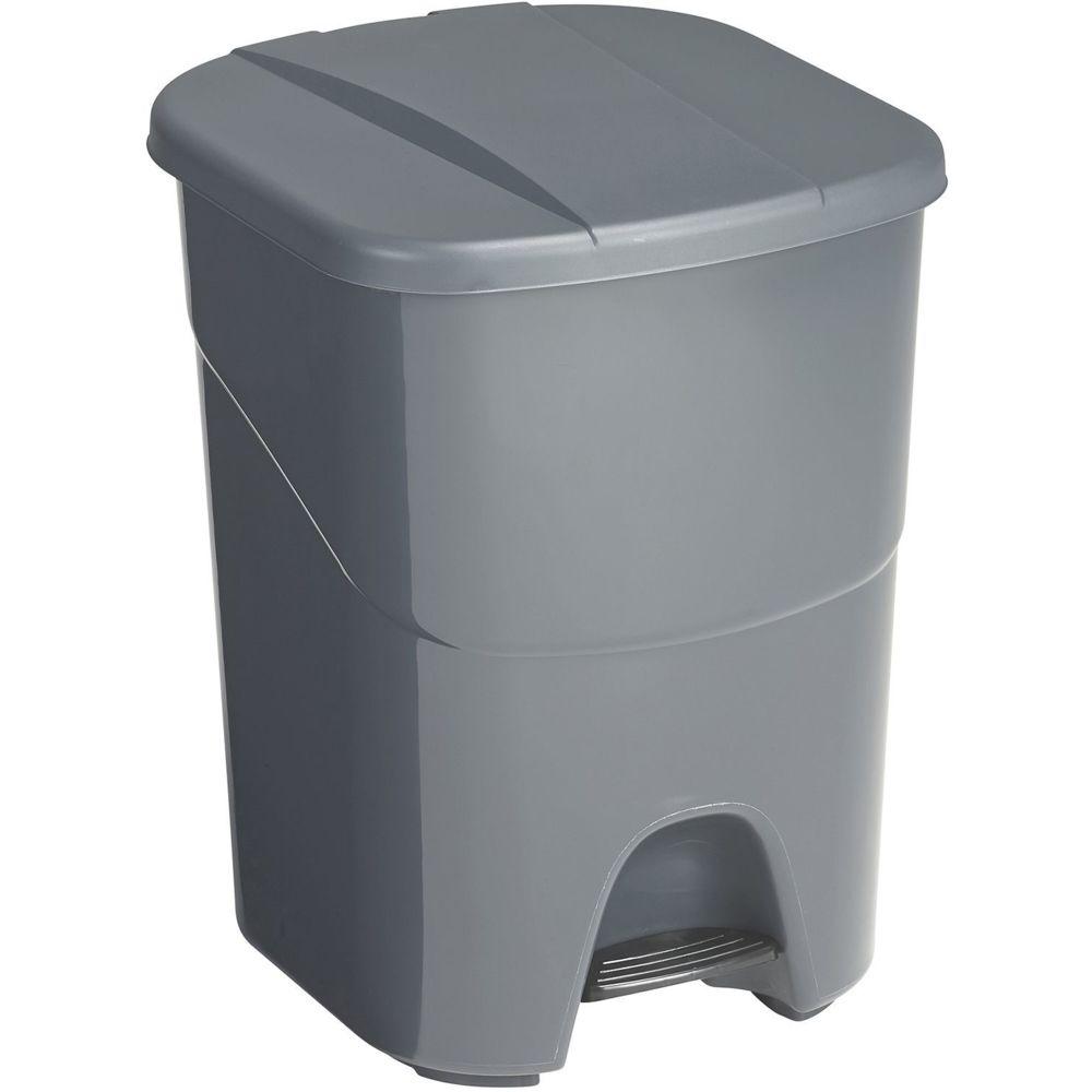 Sunware Poubelle à pédale double compartiment 40 litres