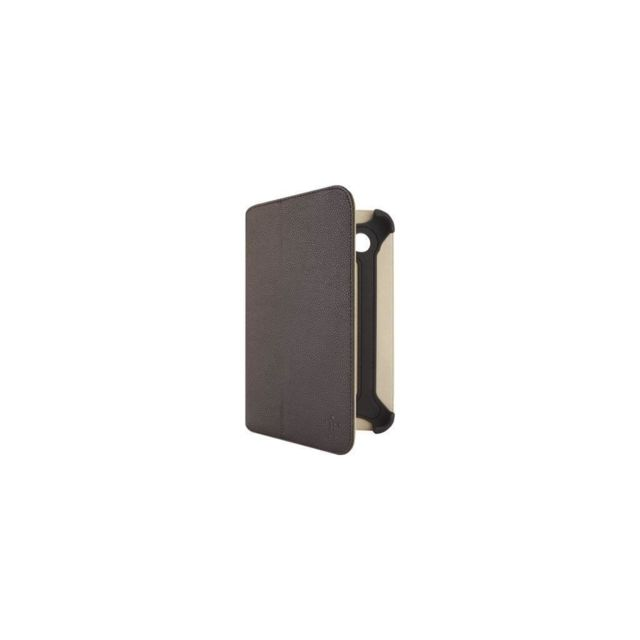 Belkin - BELKIN Boitier de protection - Pour galaxy tab 7 - Marron - Tablette tactile