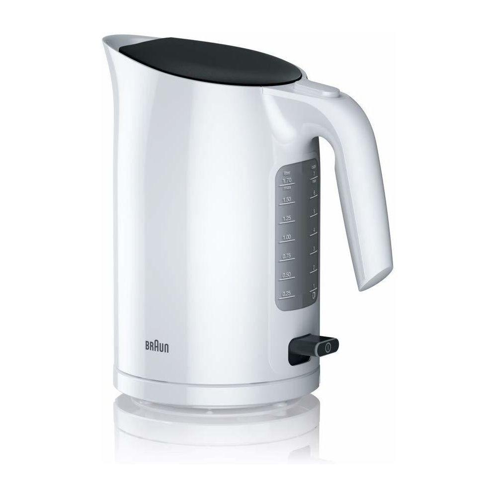 Braun bouilloire électrique de 1,7L 3000W blanc