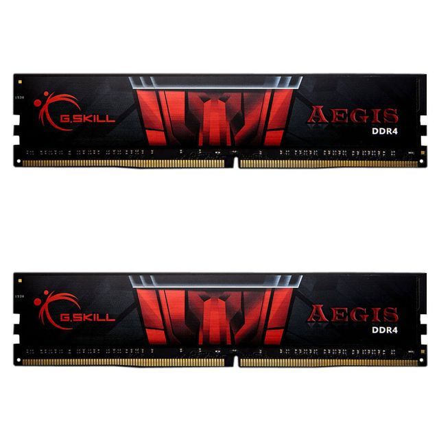 G.Skill - Aegis Gaming Series 8 Go (2 x 4 Go) - DDR4 2133 Mhz Cas 15 - RAM PC Fixe