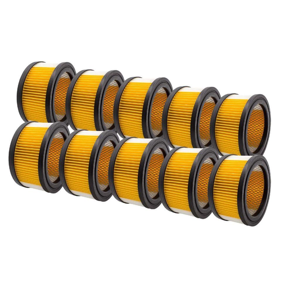 Vhbw vhbw 10x Filtres à cartouche pour aspirateur, aspirateur multifonctions aspirateur robot comme Kärcher 6.414-960.0