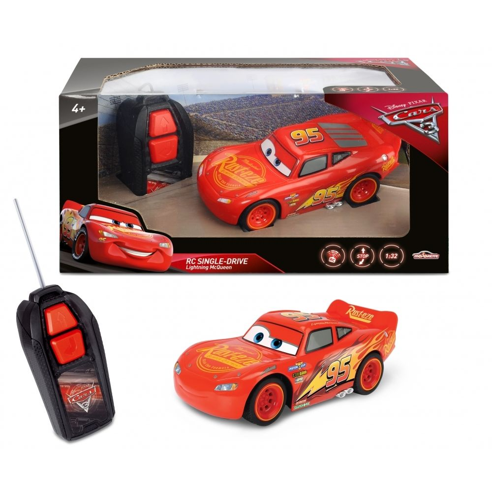 Smoby DISNEY - CARS 3 - Voiture RC Flash Mc Queen - 213081000.