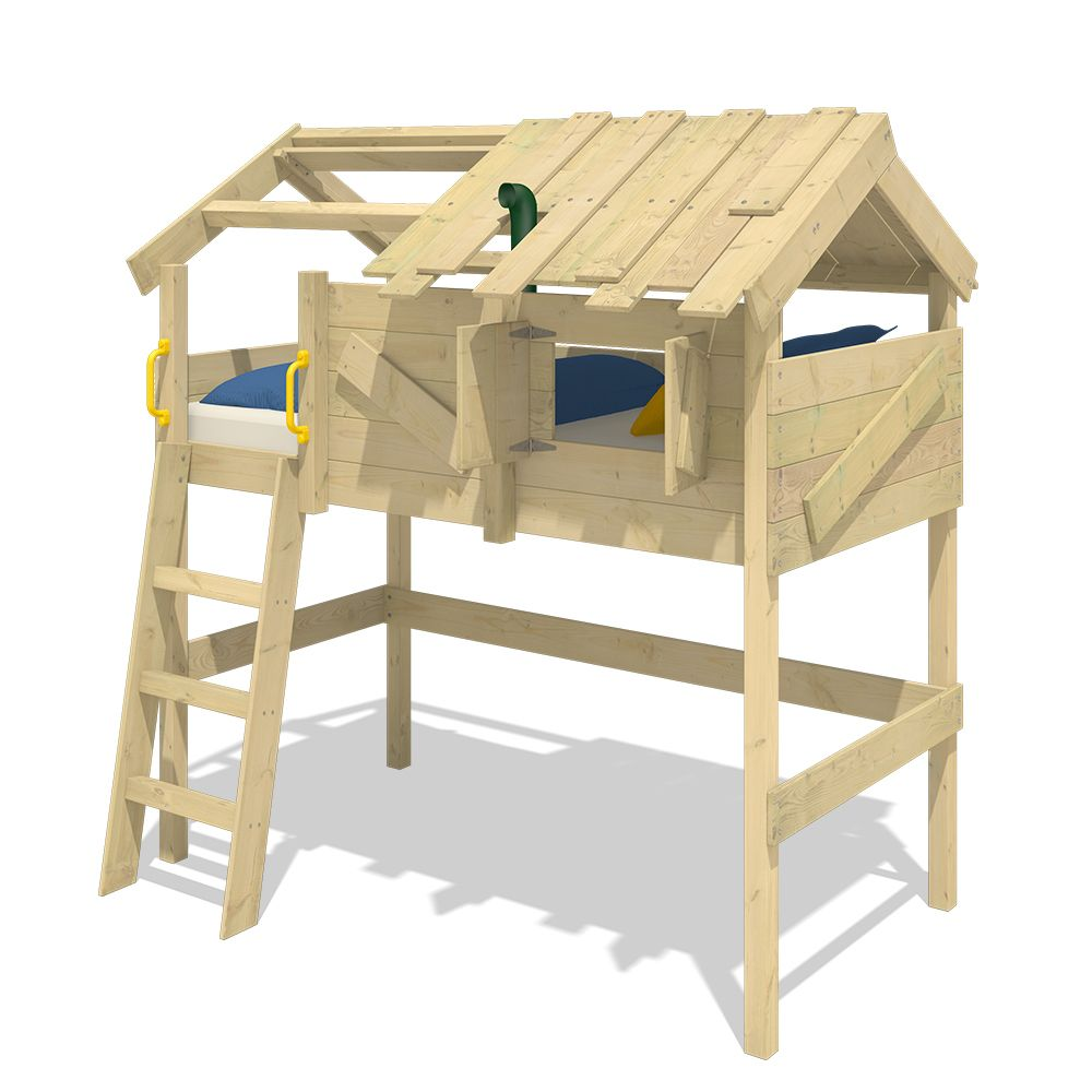 Wickey WICKEY Lit mezzanine en bois CrAzY Cove pour enfant