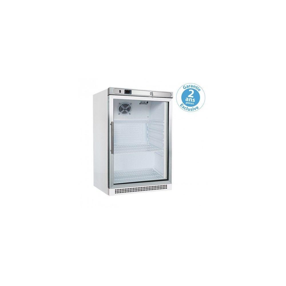 Furnotel Petite Armoire Réfrigérée Vitrée - 200 l - Furnotel - 1 Porte