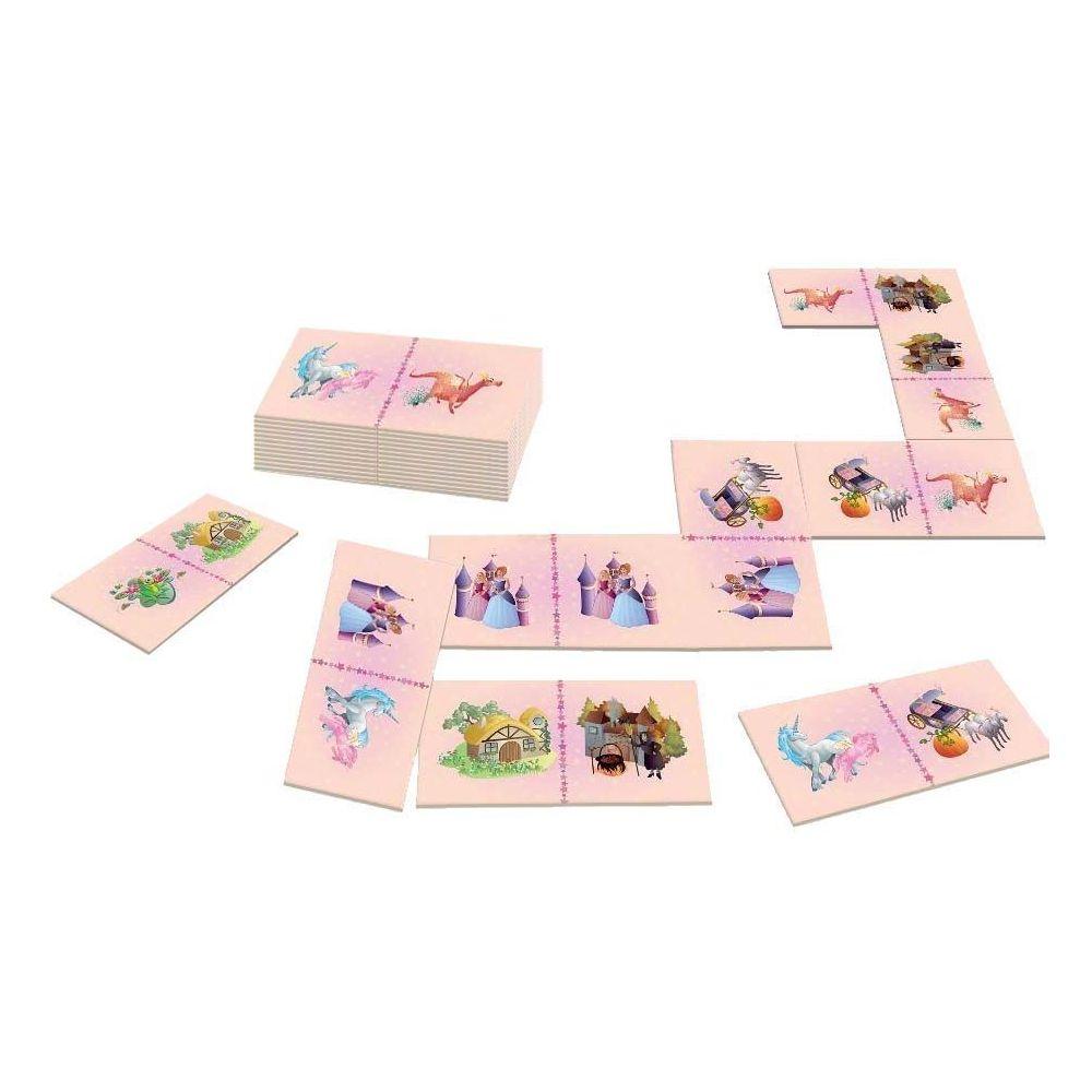 House Of Kids Dominos géants 28 pièces avec sac de rangement Princesse