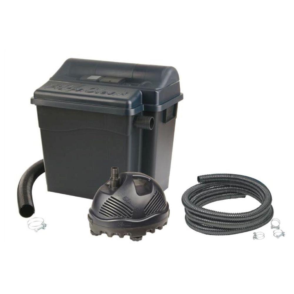 Ubbink Kit de filtration pour bassin FiltraClear 8000 PlusSet - 9 W