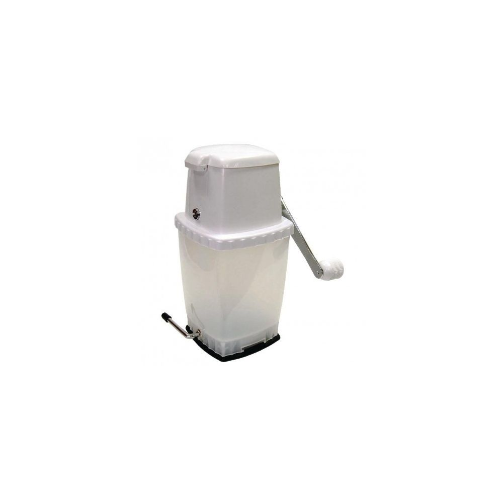 Materiel Chr Pro Broyeur à glace manuel professionnel - Blanc -
